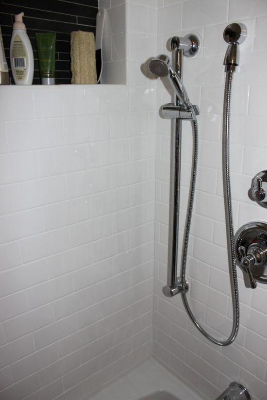 Bydlení - přestavba: konečný vzhled sprchový kout