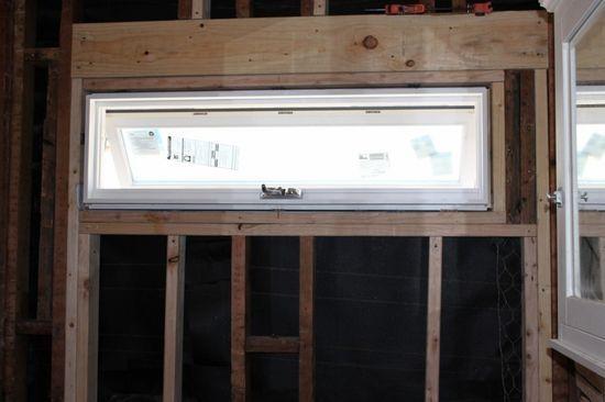 Bydlení - přestavba: nové okno