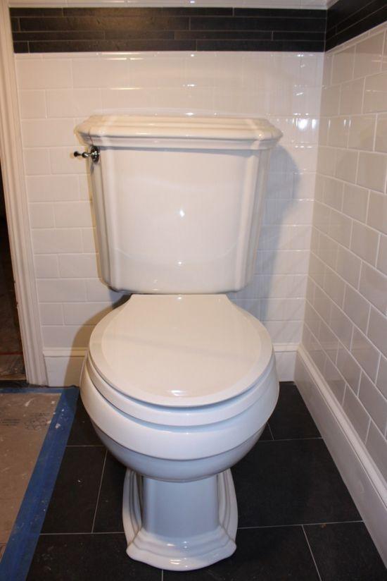 Bydlení - přestavba: konečný vzhled toaleta