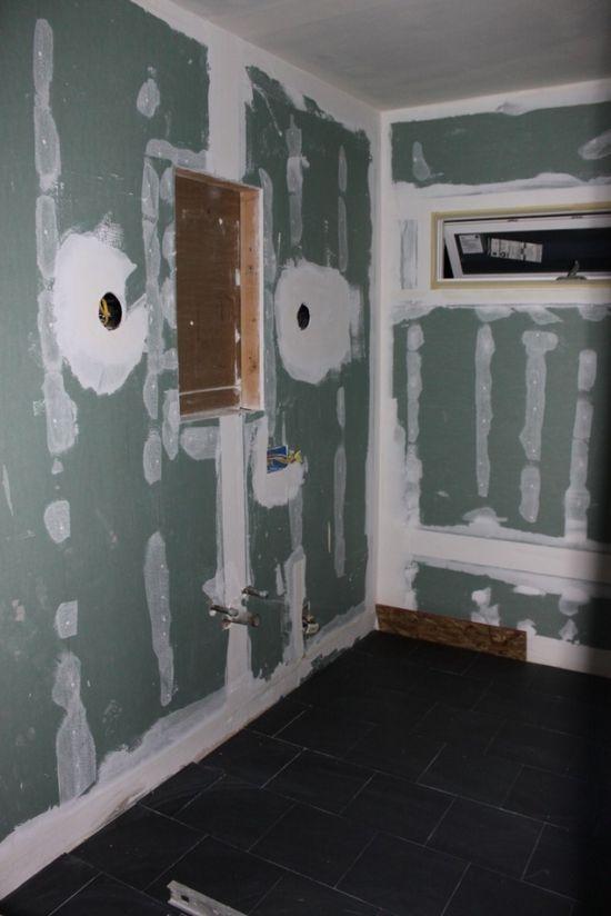 Bydlení - přestavba: sádrokartonové stěny