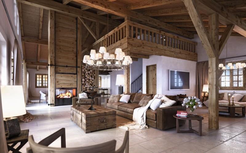 luxusní alpské bydlení
