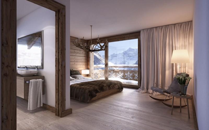 ložnice s úchvatným výhledem