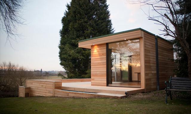 Dům a zahrada: Dřevěné zahradní domky