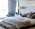 Vytvoření postele z palet svépomocí