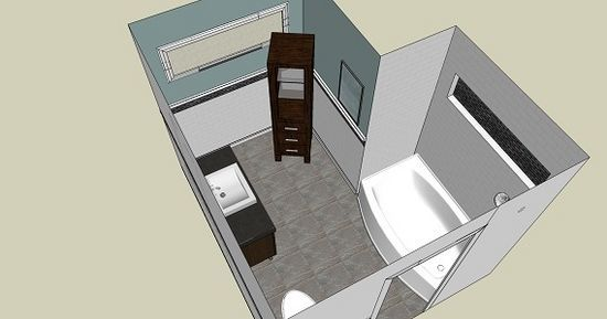 Bydlení - přestavba: vizualizace přestavby
