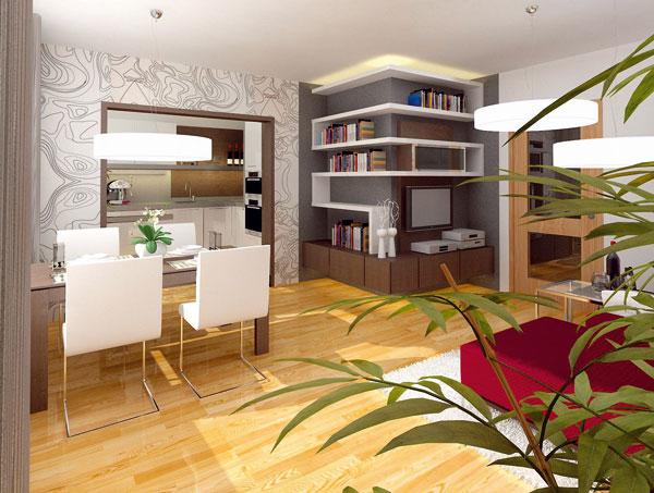inspirace rekonstrukce malého bytu