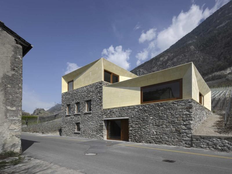 Dům - bydlení ve Švýcarsku