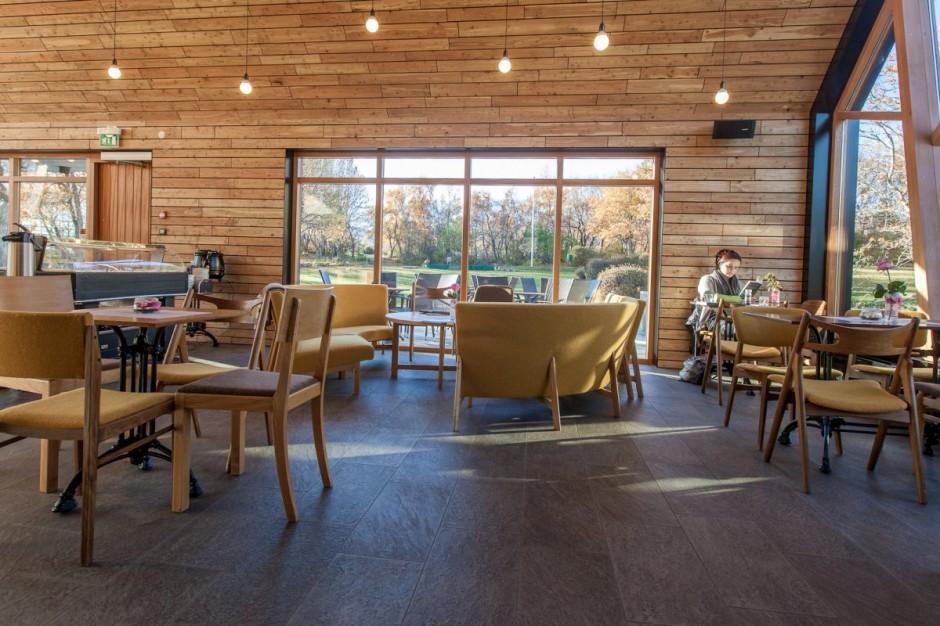 kavárna na islandu