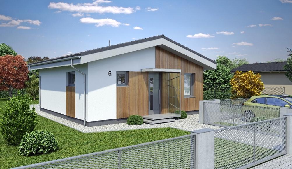 Úsporné domy od promiprojekt, autor: promiprojekt