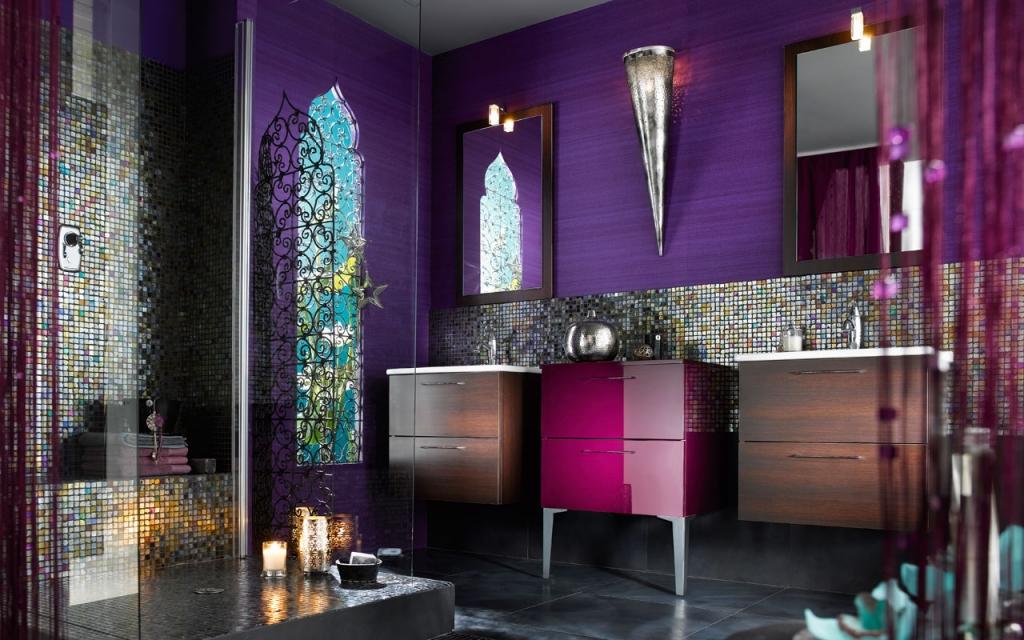 inspirace obklady koupelen