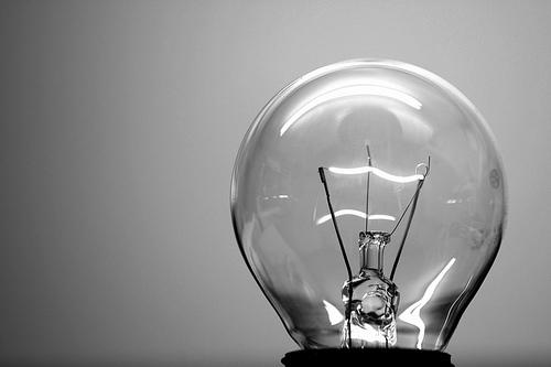 žárovka - elektřina