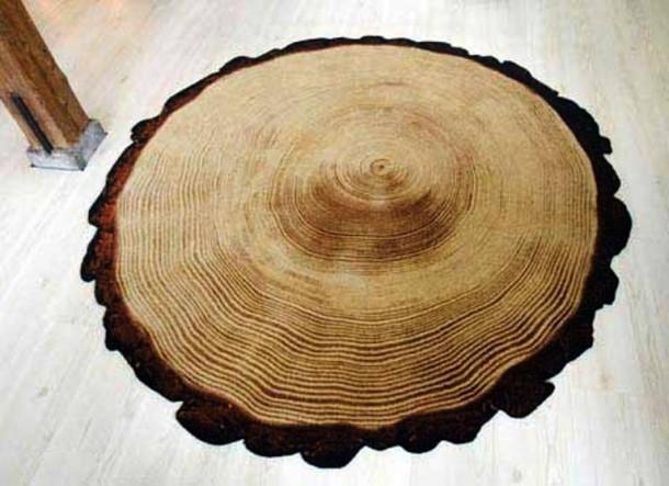 koberec dřevo