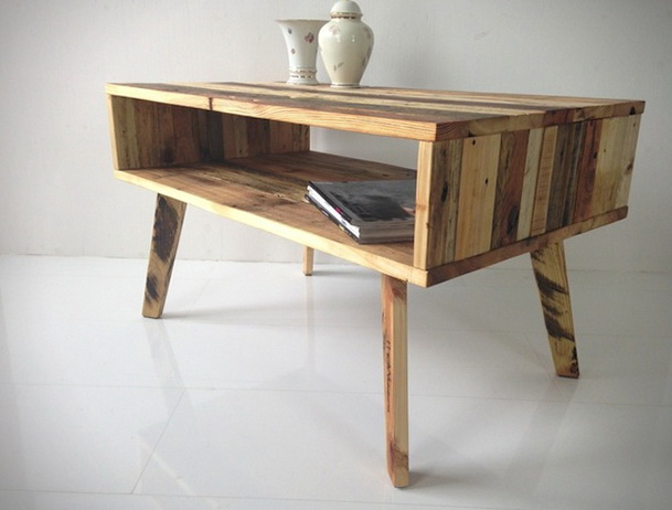 stolek z palet