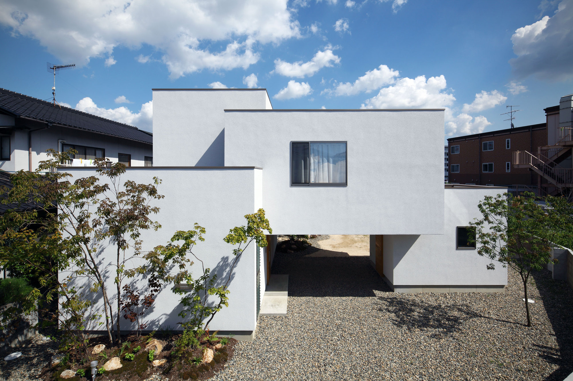 bridged living space
