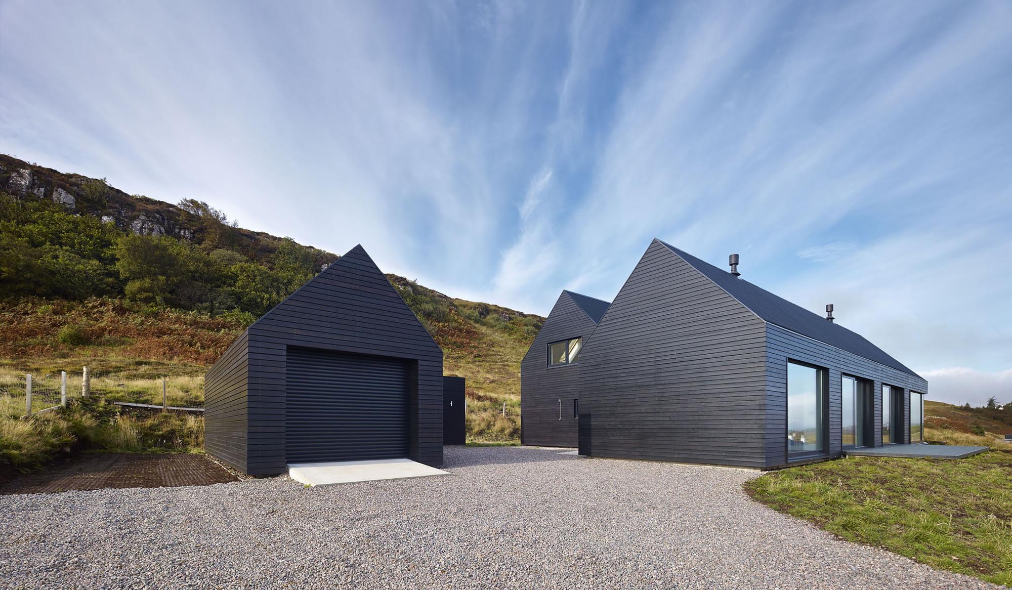 dům nad zálivem