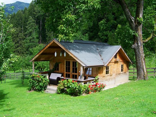 vlhnutí dřevostavby - chaty - domu