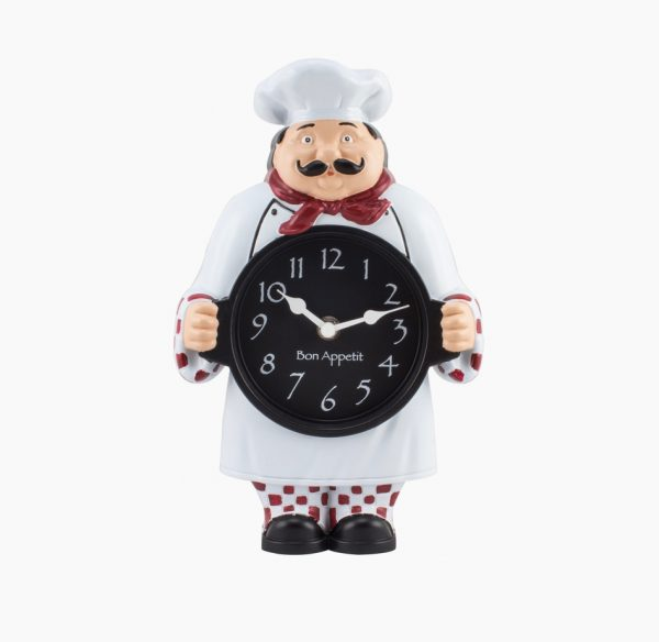 chef-figurine-kitchen-wall-clocks-uk-600x584