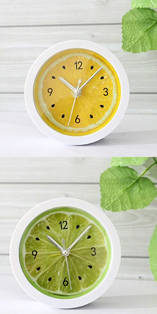 funky-counter-top-lemon-kitchen-clocks-600x1200