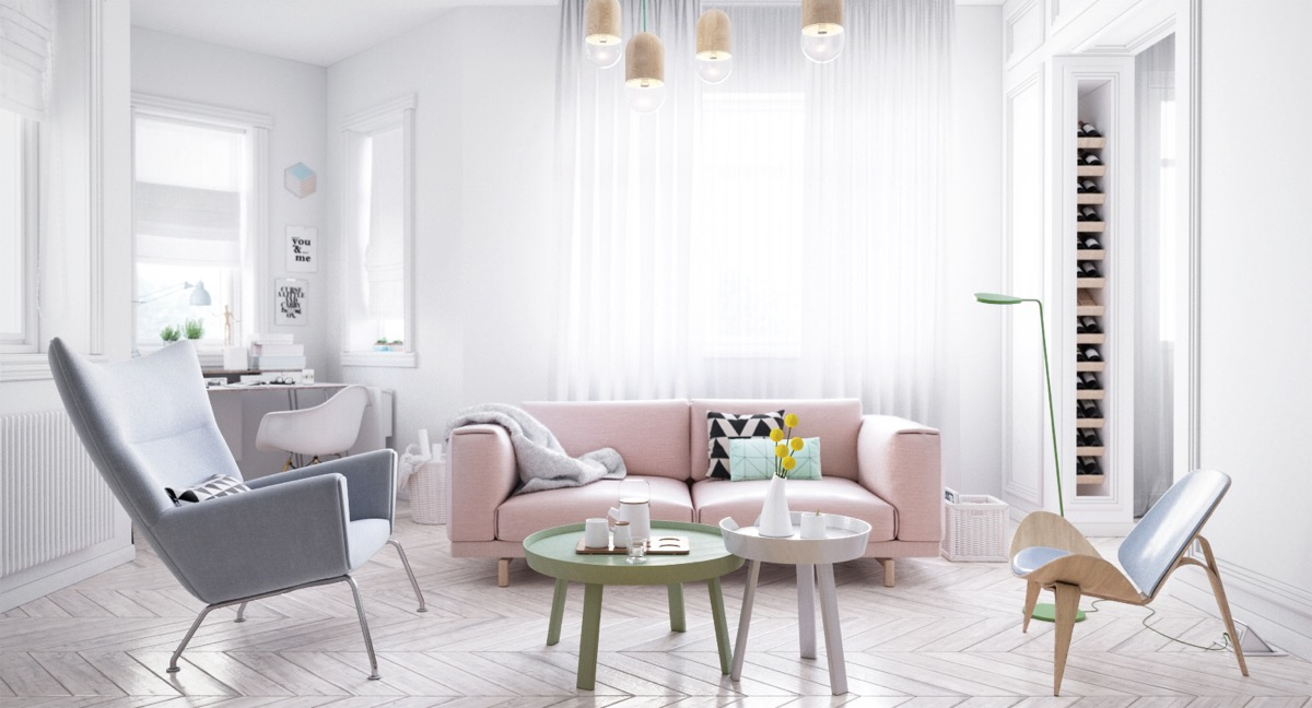 pink-couch-lilac-recliner-Scandinavian-lounge